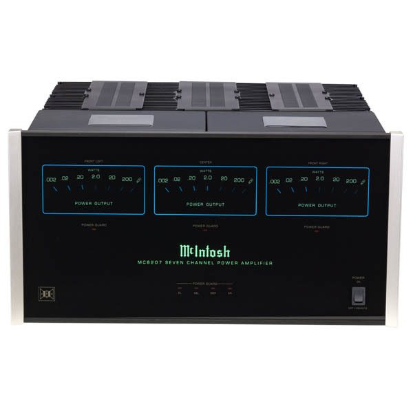 McIntosh MC8207 7 Channel Power Amplifier